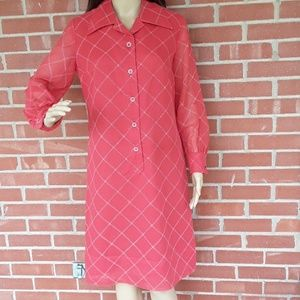 Shirt Dresses Inc. Button front dress size L